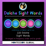 Google Slides | 220 Dolche High Frequency Words + 95 Dolche High Frequency Nouns