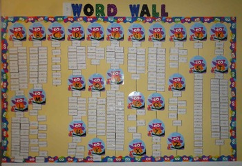 220 High Frequency Sight Words for Word Wall