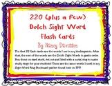 220 (plus a few) Dolch Sight Word Flash Cards