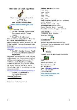 2.2.4 Bremen Town Musicians Reading Street 2nd Grade Newsletter Unit 2 Week 4