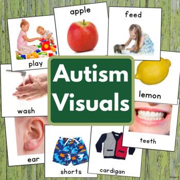 Autism Communication Cards, Pecs