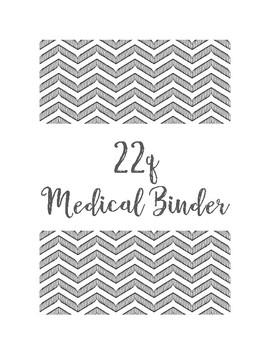 22q Medical Binder