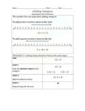 2.3 Adding Integers