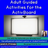 ActivBoard Prompts for Literacy Centers in the Early Childhood Classroom