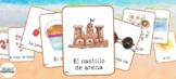 23 Beach Vocabulary Flashcards in Spanish