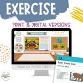 Creative Curriculum Exercise Study Book - Bear Feels Sick Teaching Strategies