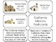 23 California Missions Printable Flashcards. Preschool-5th Grade US History.