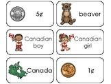 23 Canada Printable Flashcards. Preschool-3rd Grade