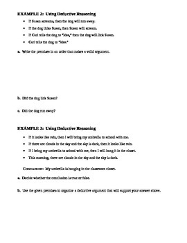2.3 Deductive Reasoning (B)