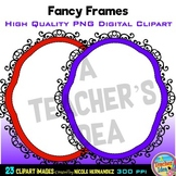 Fancy Frames Clip Art for Personal and Commercial Use