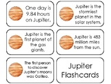 23 Jupiter Printable Planetary Facts Flashcards. Astronomy