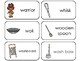 23 Letter Ww Printable Picture and Word Flashcards. Preschool-Kindergarten