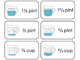 23 Liquid Measurement Printable Flashcards. 1st Grade- 5th