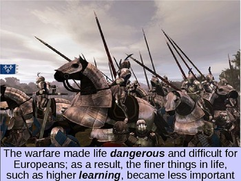 UNIT 4 LESSON 3. Middle Ages and Feudalism POWERPOINT