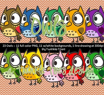 23 Owls : a Twinkle Toes Original