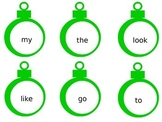 23 Sight Word Ornaments