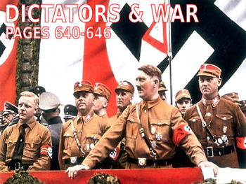 23 - The Coming of World War II - PowerPoint Notes