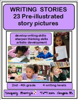 23 WRITING STORIES - 2nd-4th gr.