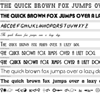 230+ DECORATIVE FONTS – Commercial License for Teachers Pay Teachers Products!