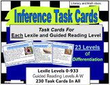 Print and Use (230 Leveled Task Cards) Inferences