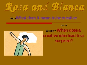 2.3.4, Rosa and Blanca, Reading Street, Second Grade, PowerPoint Smart Board