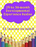24-36 Month Lesson Plan Bundle