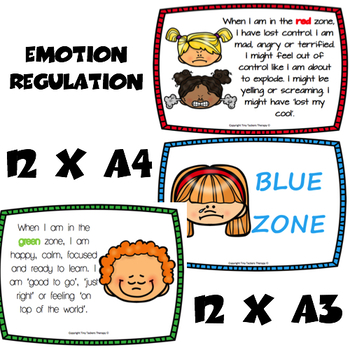 Self regulation - 24 Posters - Emotions/Feelings