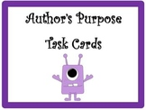 24 Author's Purpose Task Cards