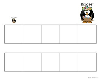 Autism File Folder Activities: Patterning, Sorting, Ordering, Matching Penguins