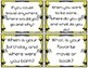 24 Back to School Task Cards