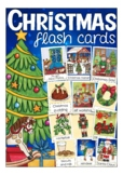 Christmas flash cards - lovely Kate Hadfield designs, vocabulary, winter, school