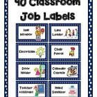 50 Classroom Job Labels