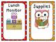 24 Classroom Jobs - Owl Themed!