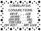 24 Correlative Conjunction QR Code Task Cards includes Mindbreaks & Game Board