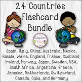 24 Countries Flashcard Bundle