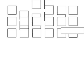 24 Desk Seating Chart (Word File Editable)