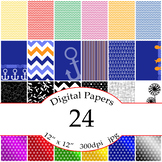 24 Digital Papers