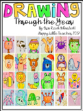 24 Directed Drawings Throughout the Year with Writing Pages!