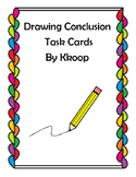 24 Drawing Conclusion Task Cards