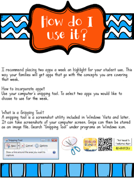 24 ELA iPad Apps with QR Codes for Student Success