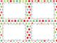 24 Editable Task Card Templates Jolly Christmas (Landscape) PowerPoint