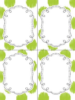 24 Editable Task Card Templates Mistletoe Kisses (Portrait) PowerPoint