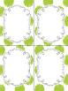 24 Editable Task Card Templates Mistletoe Kisses (Portrait