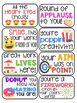 40 Emoji Themed Positive Headers for Displaying Student Work Bulletin Board Idea