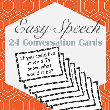 24 FREE Conversation Cards