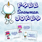 24 FREE Snowman Joke Cards