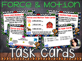 24 Force and Motion Task Cards (Speed, Velocity, Accelerat