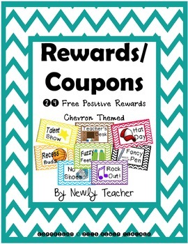 24 Free Chevron Themed Coupons / Rewards