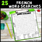 24 French Word Searches