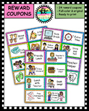 24 Full Color, Cute and Fun Reward Coupons!